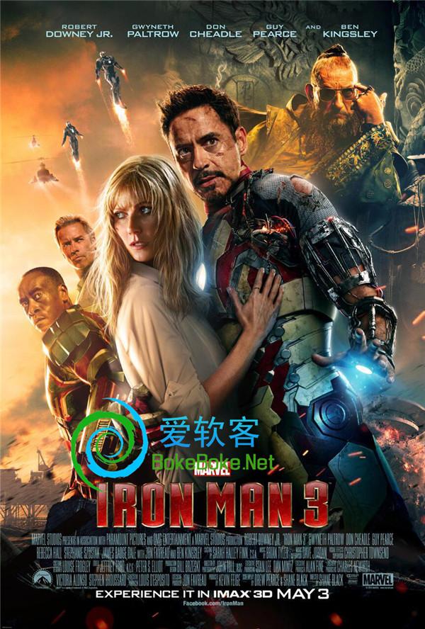 王学圻范冰冰出演:《钢铁侠3》DVD高清版下载 | 爱软客