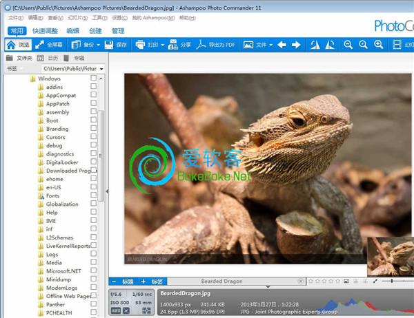 照片管理:Ashampoo Photo Commander v11.0.2 中文破解版下载 | 爱软客